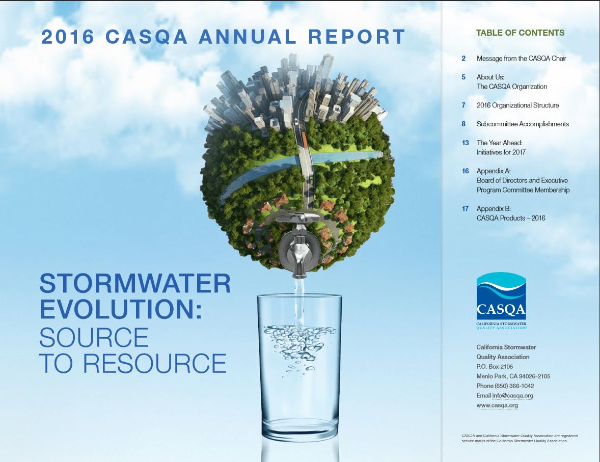 CASQA Annual Report Image